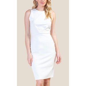 Francescas white sheath dress